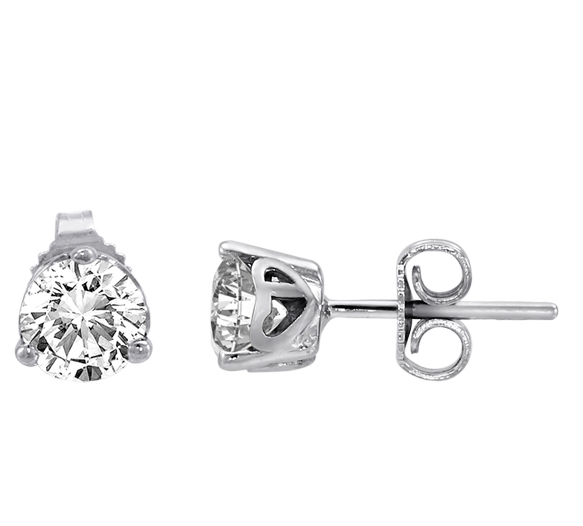 Canadia Diamonds stud earrings