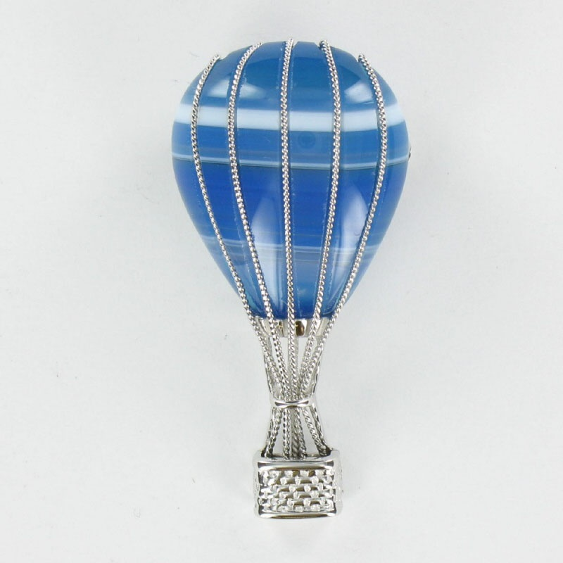 Legere balloon brooch