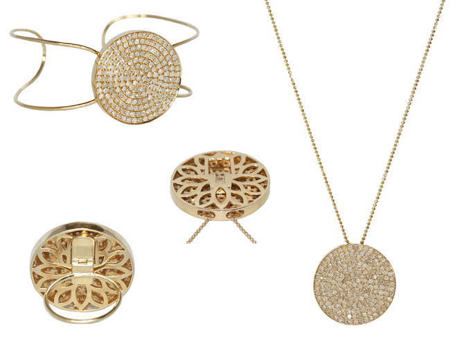 Meredith Marks 14k gold interchangeable jewelry