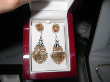 Earrings from Diamonds For A Cure.