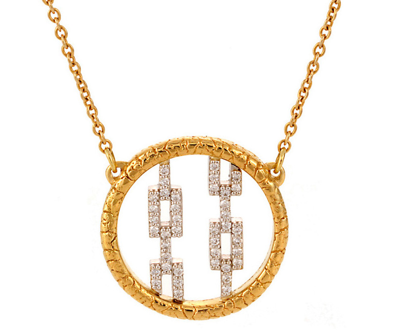 Susan Wheeler Design Pavé HIcks necklace | JCK On Your Market