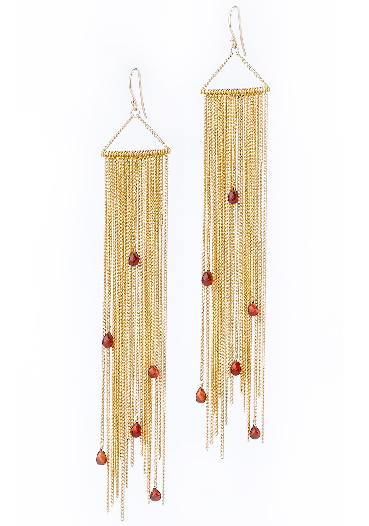 Amali Jewelry sapphire fringe drop earrings | JCK On Your Market