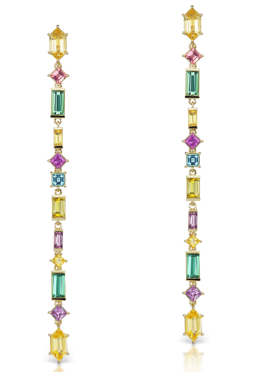 Jane Taylor Jewelry Cirque Aerial long drop earrings | JCK On Your Market