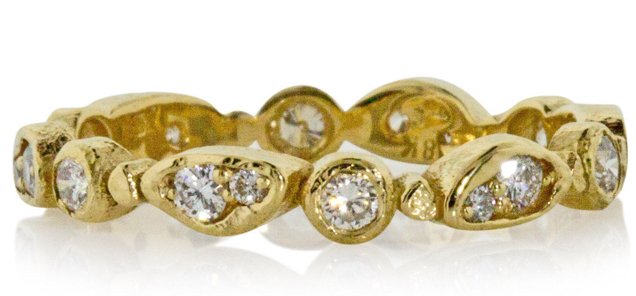 Rona Fisher diamond Forever band   JCK On Your Market
