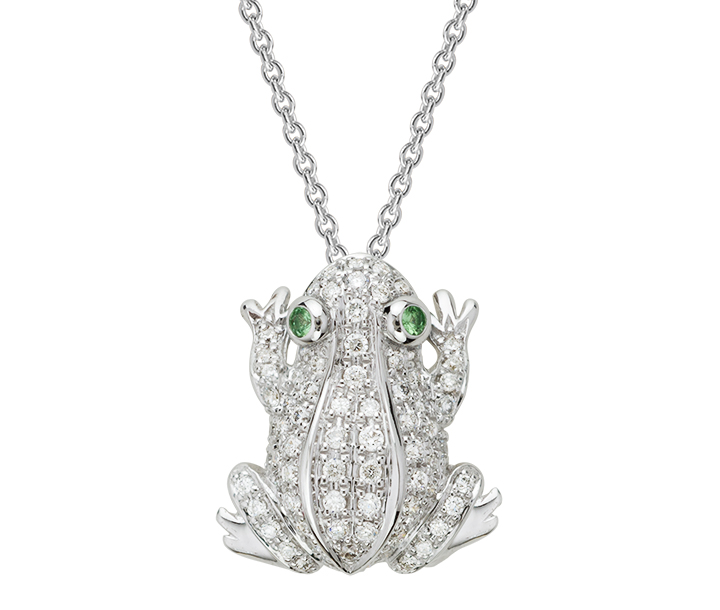 Artistry Ltd. pave diamond frog pendant | JCK On Your Market