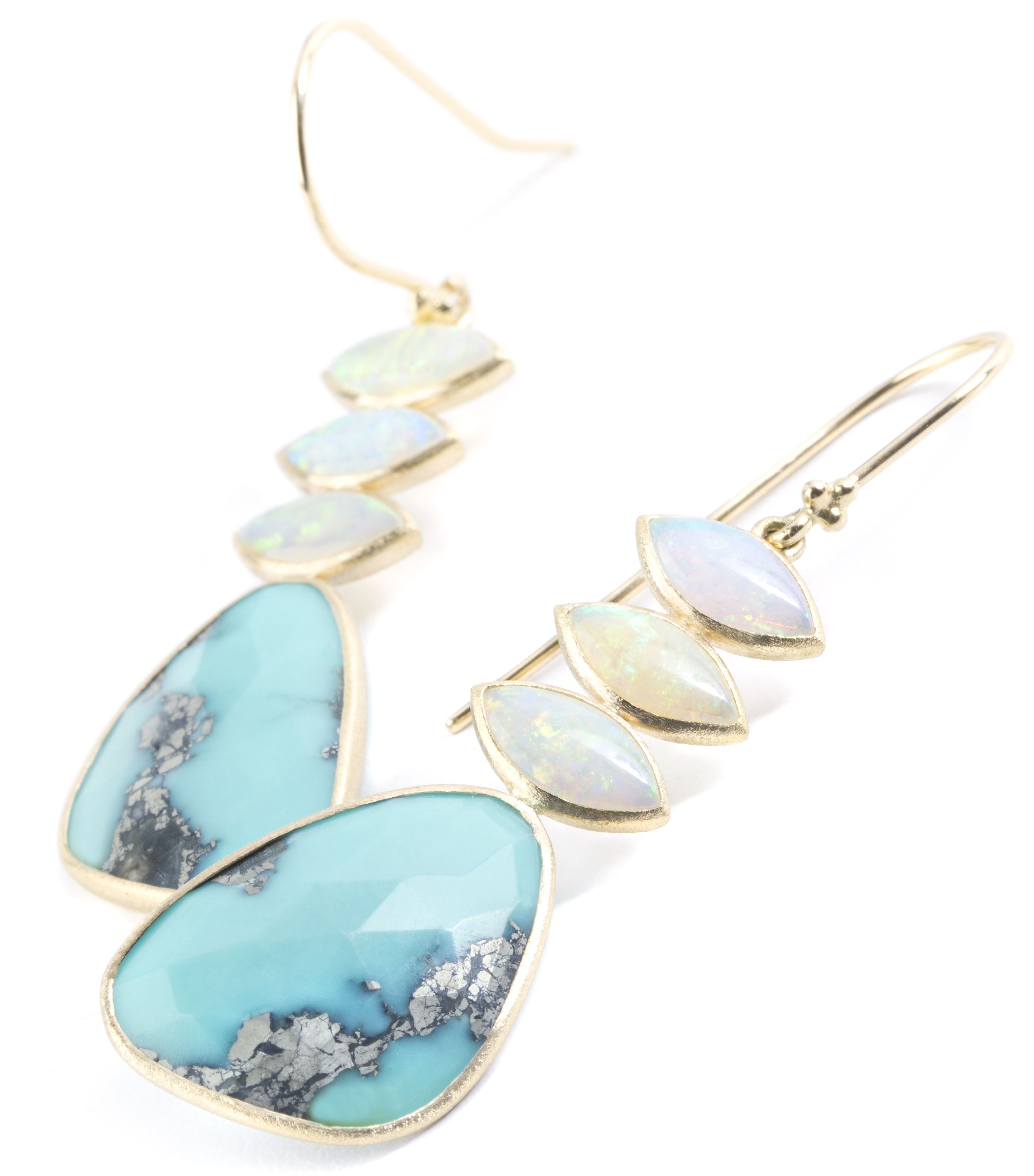 Nina Nguyen Medley opal and turquoise earrings #BrittsPick | JCK On Your Market
