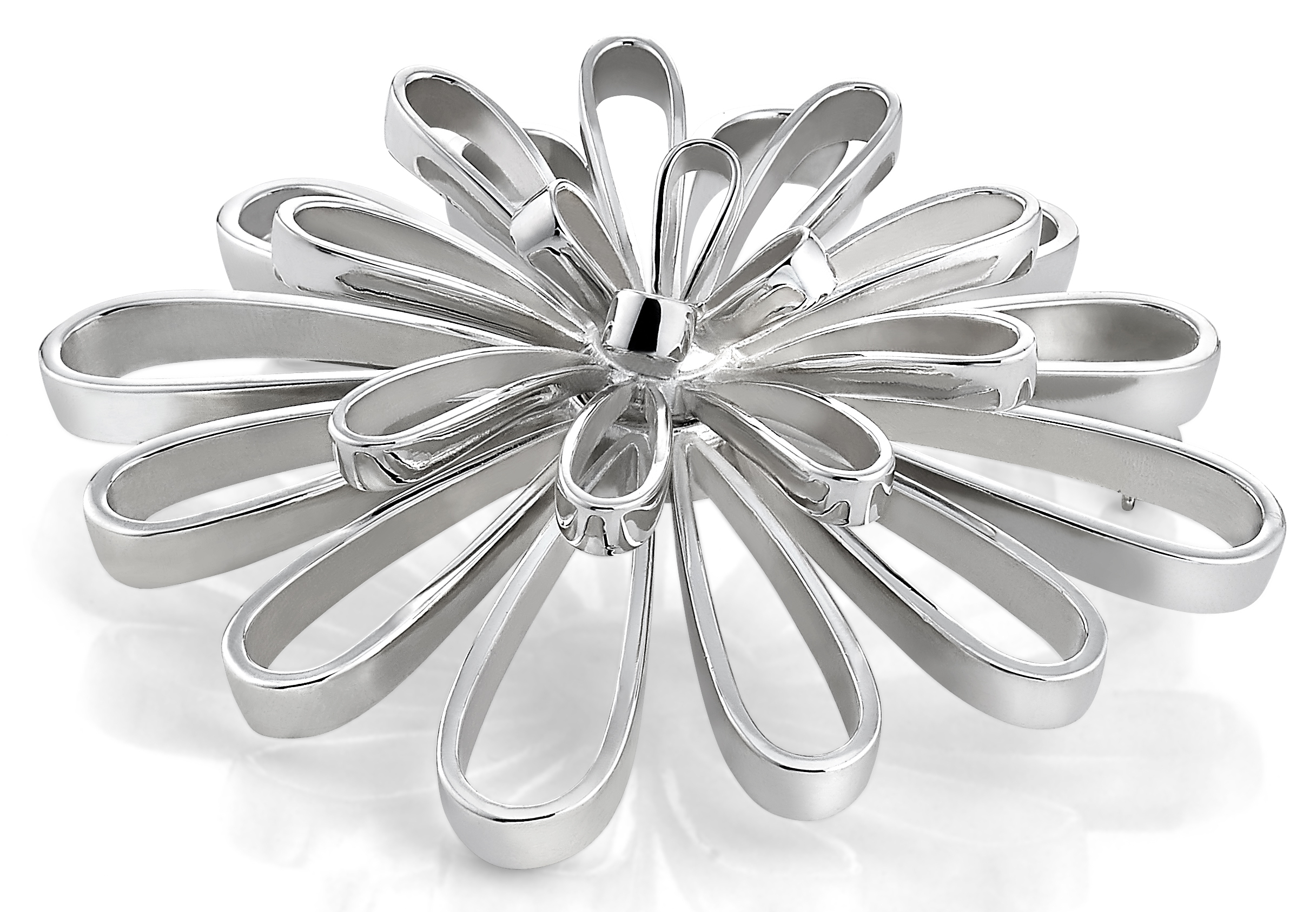 Zina Sterling Silver Ribbon Fireworks pin | JCK On Your Market