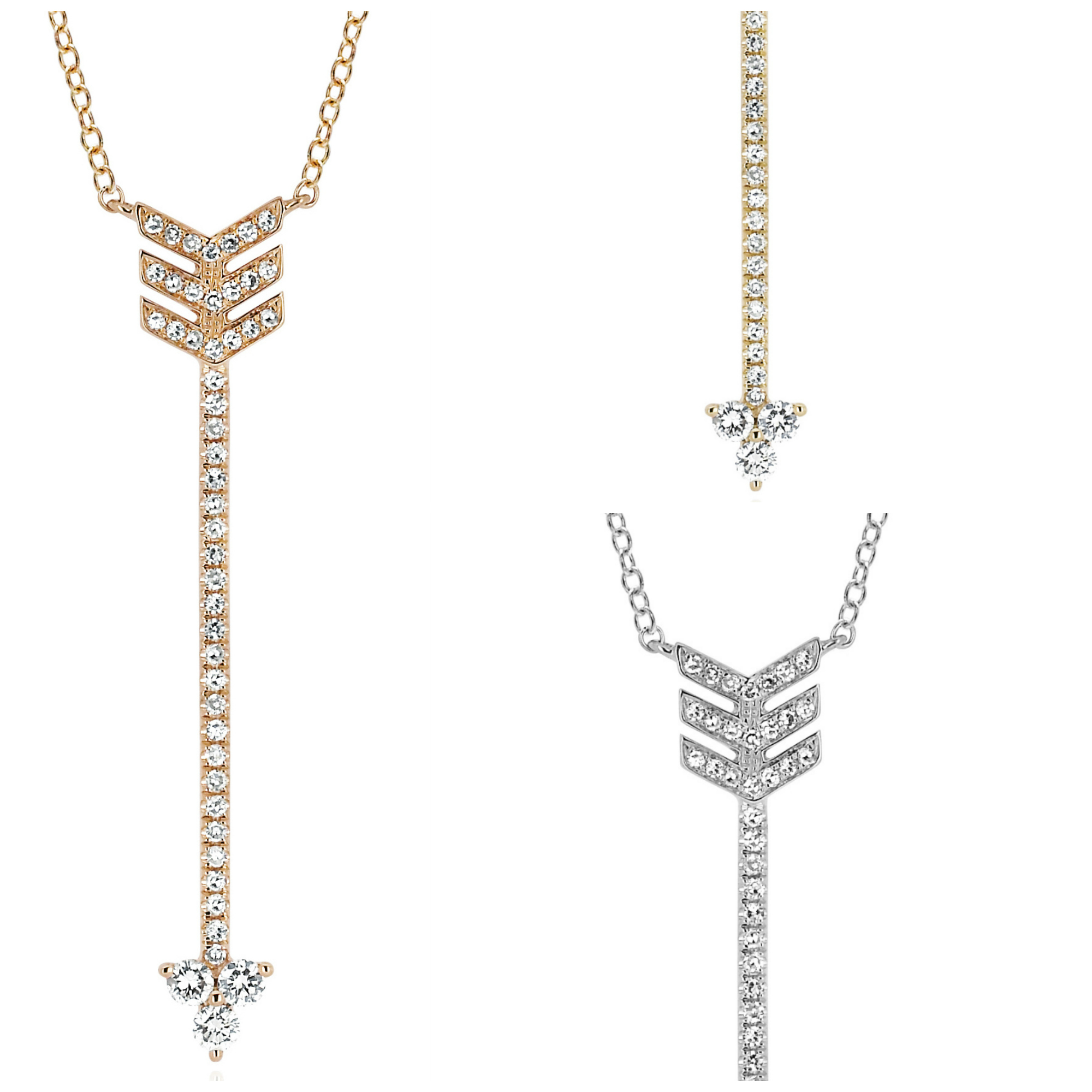 EF Collection diamond arrow necklace #BRITTSPICK | JCK On Your Market