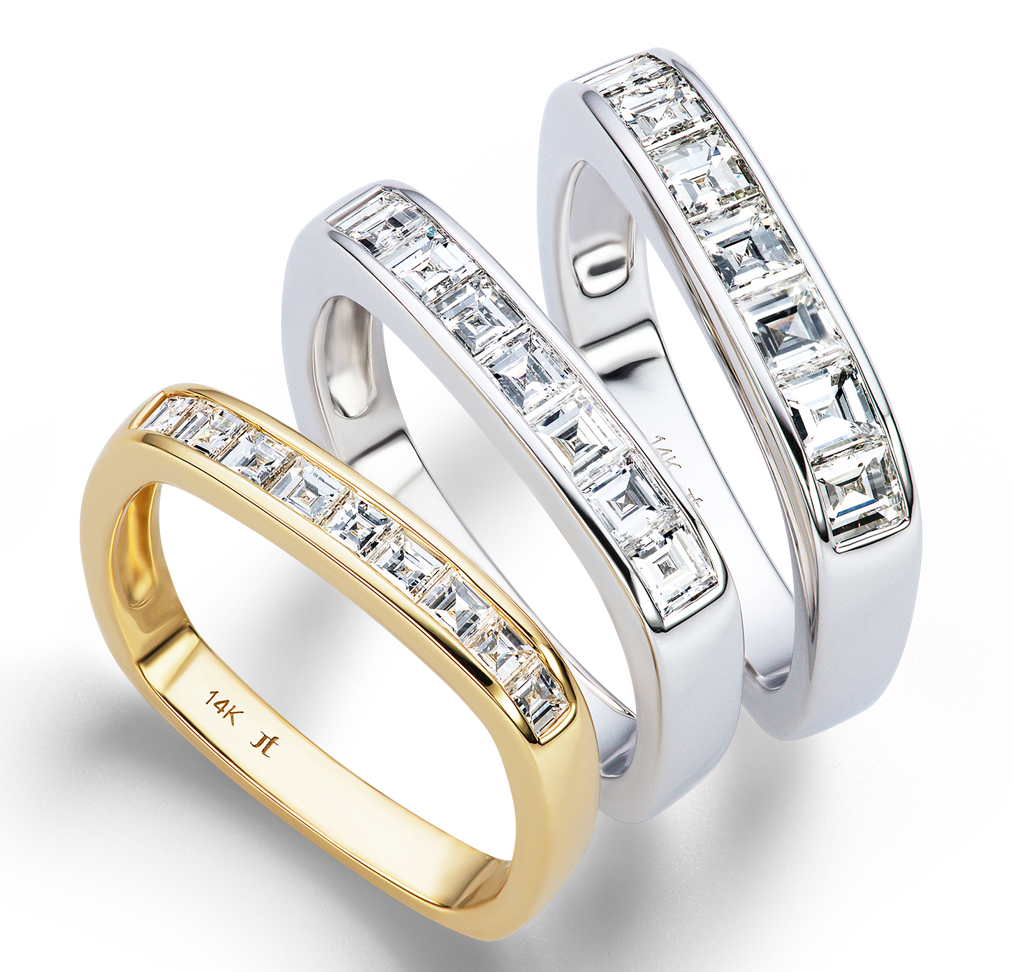 Jane Taylor Jewelry wedding ring trio | JCK On Your Market
