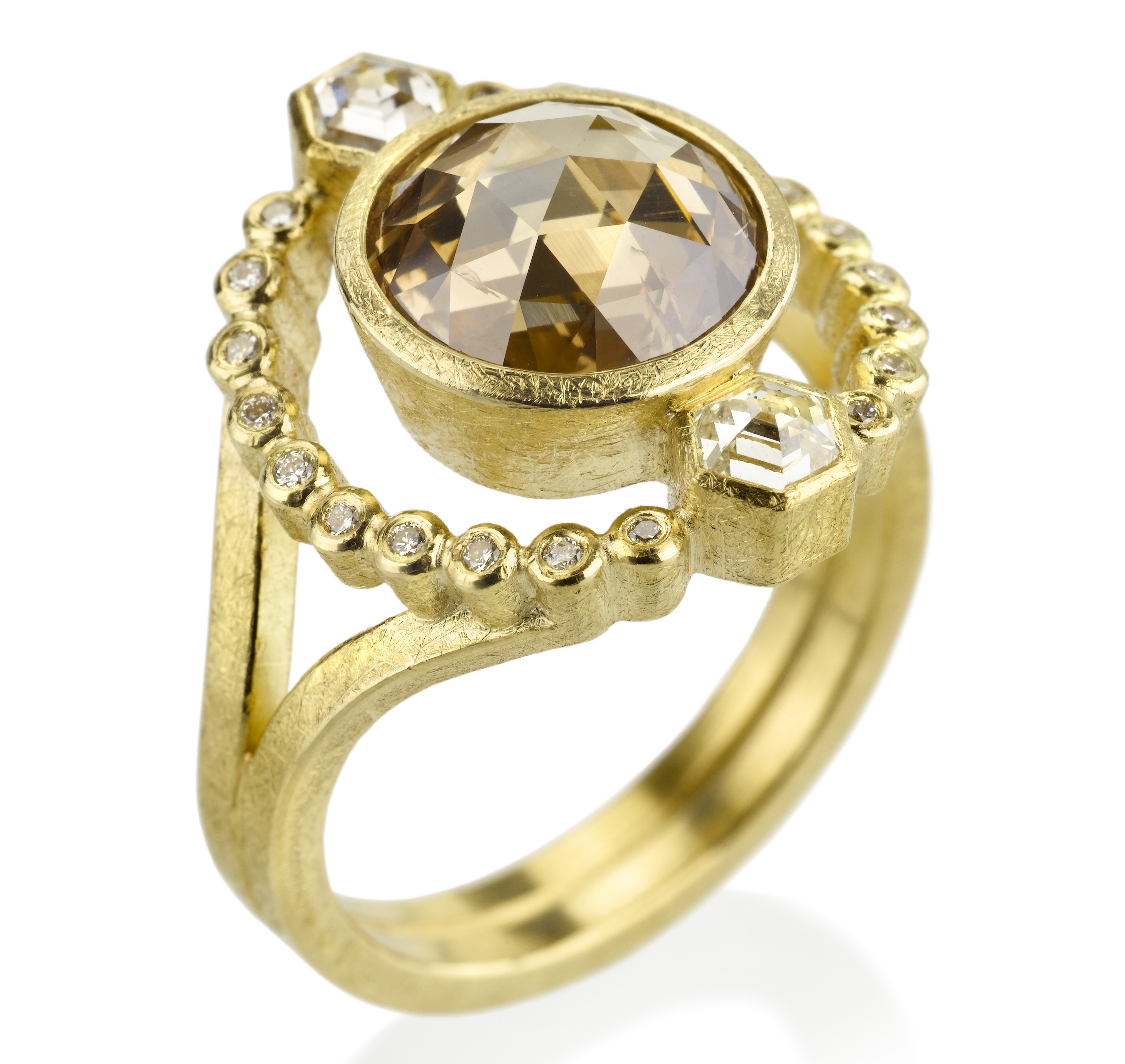 Todd Reed one-of-a-kind rose-cut diamond ring | JCK On Your Market