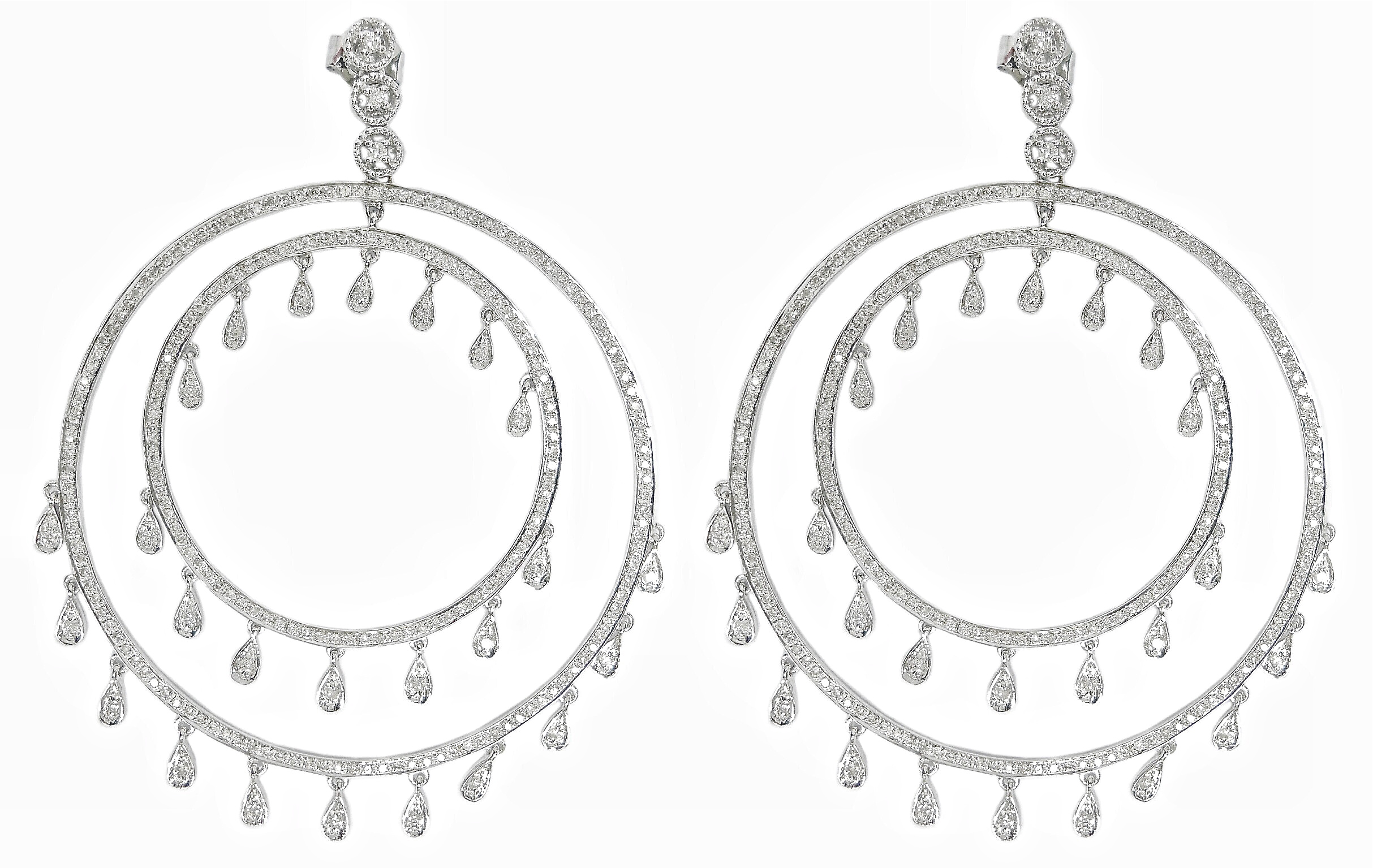 Shay double circle dangle earrings | JCK On Your Market