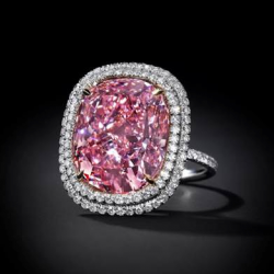 16.08 Carat Fancy Vivid Pink Diamond Expected to Sell for Over $23 Million at Christie's