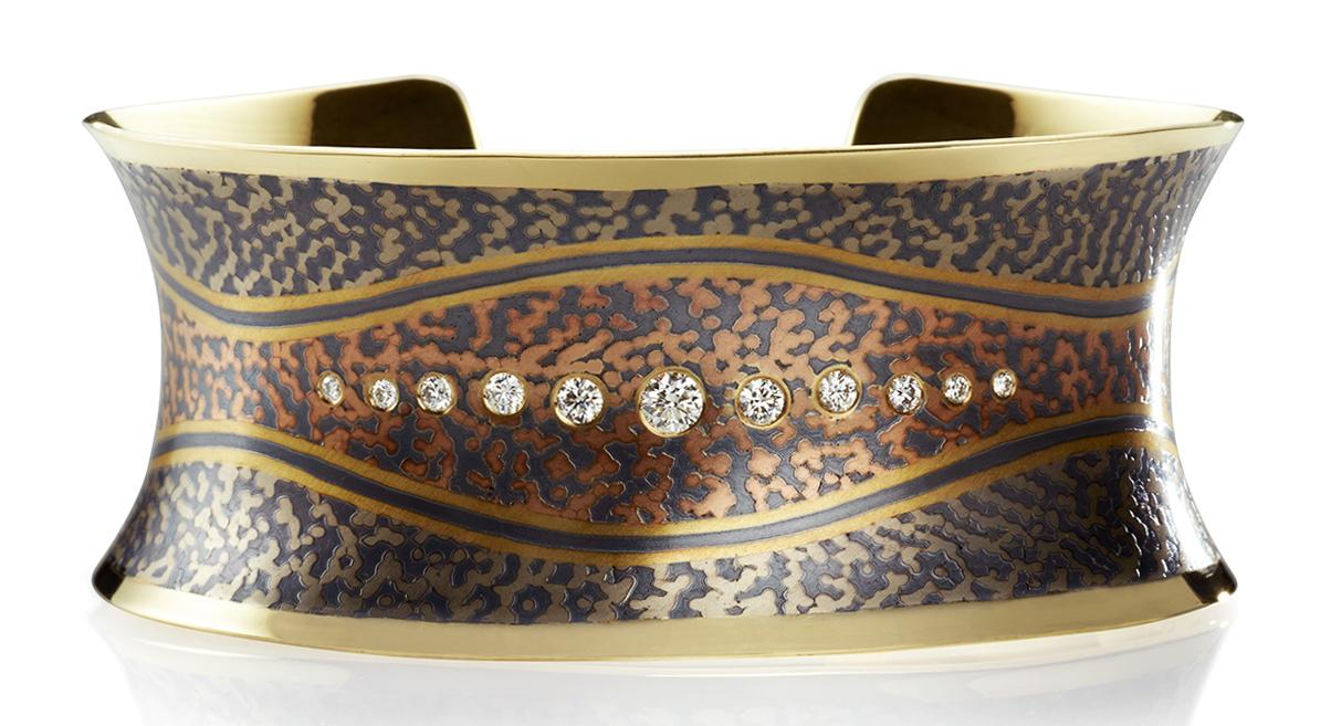 George Sawyer Contour cuff bracelet | JCK On Your Market