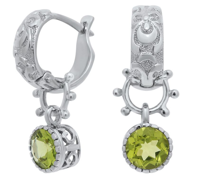 Drukker peridot drop earrings | JCK On Your Market