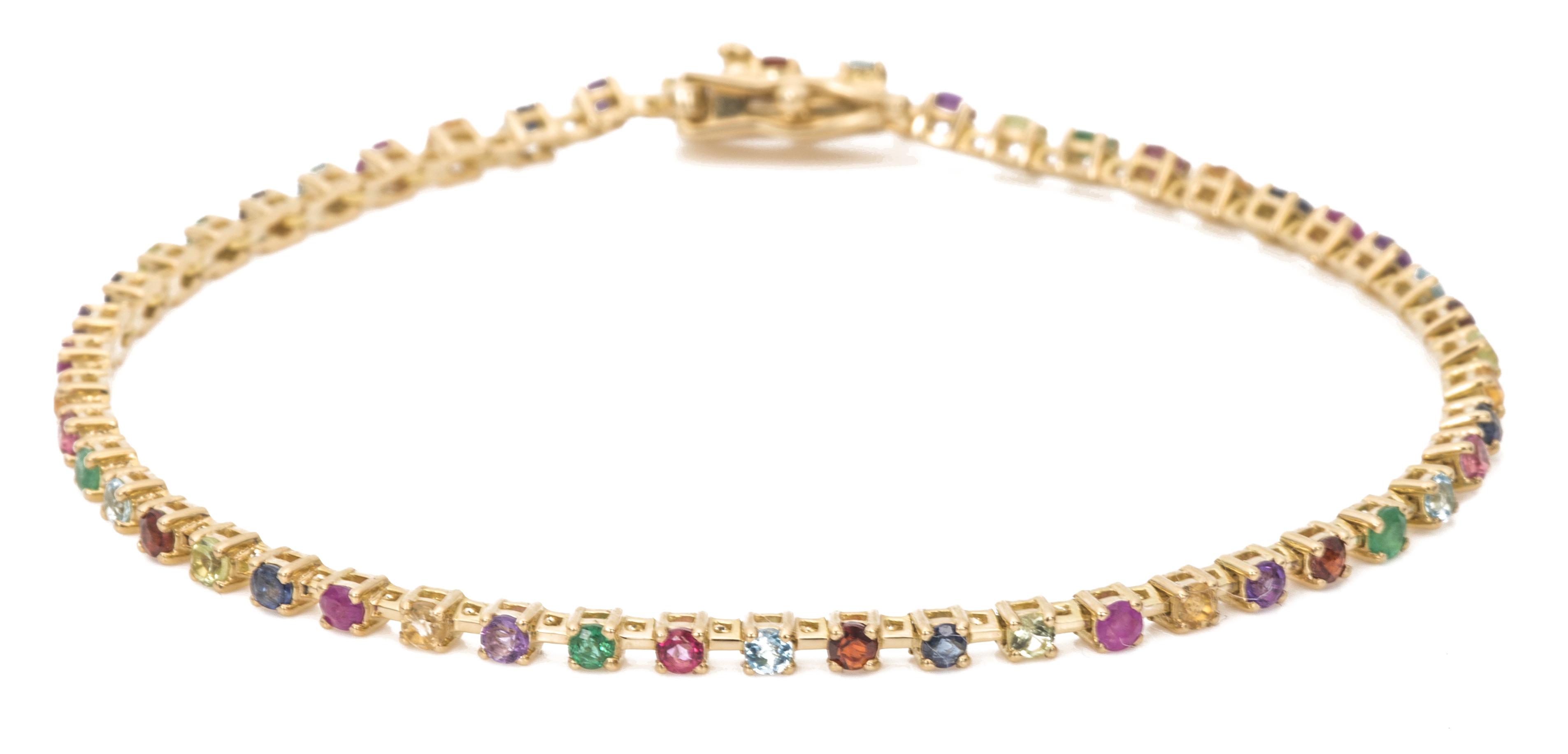 Ariel Gordon Candy Crush tennis bracelet | JCK On Your Market