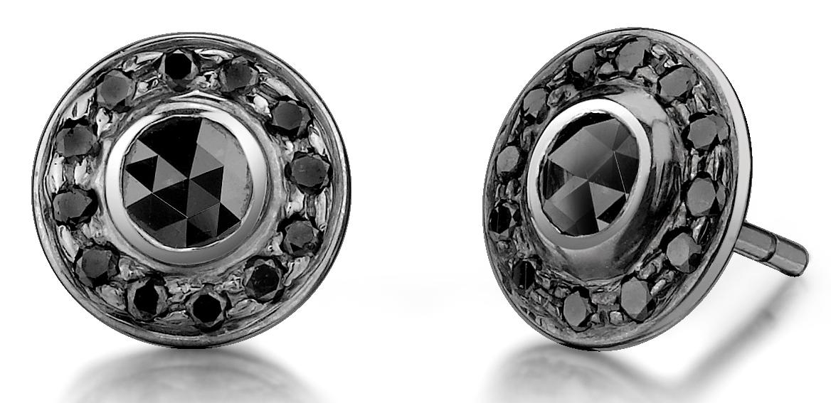Borgioni black diamond earrings | JCK On Your Market