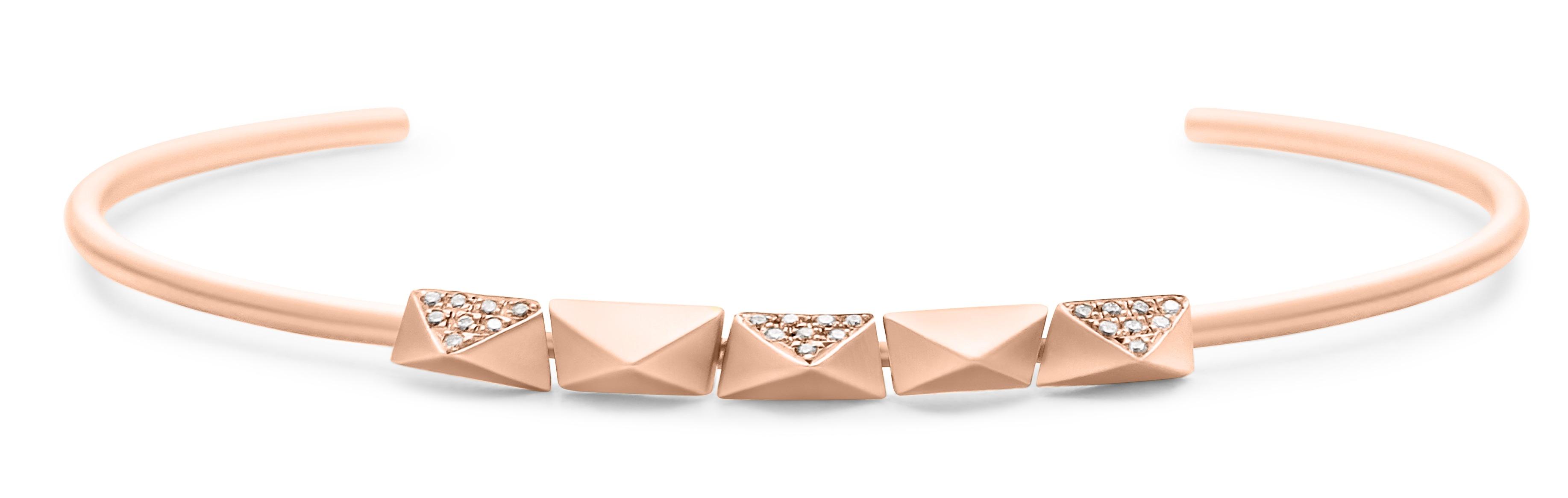 Dana Bronfman 5 Pi cuff bracelet | JCK On Your Market