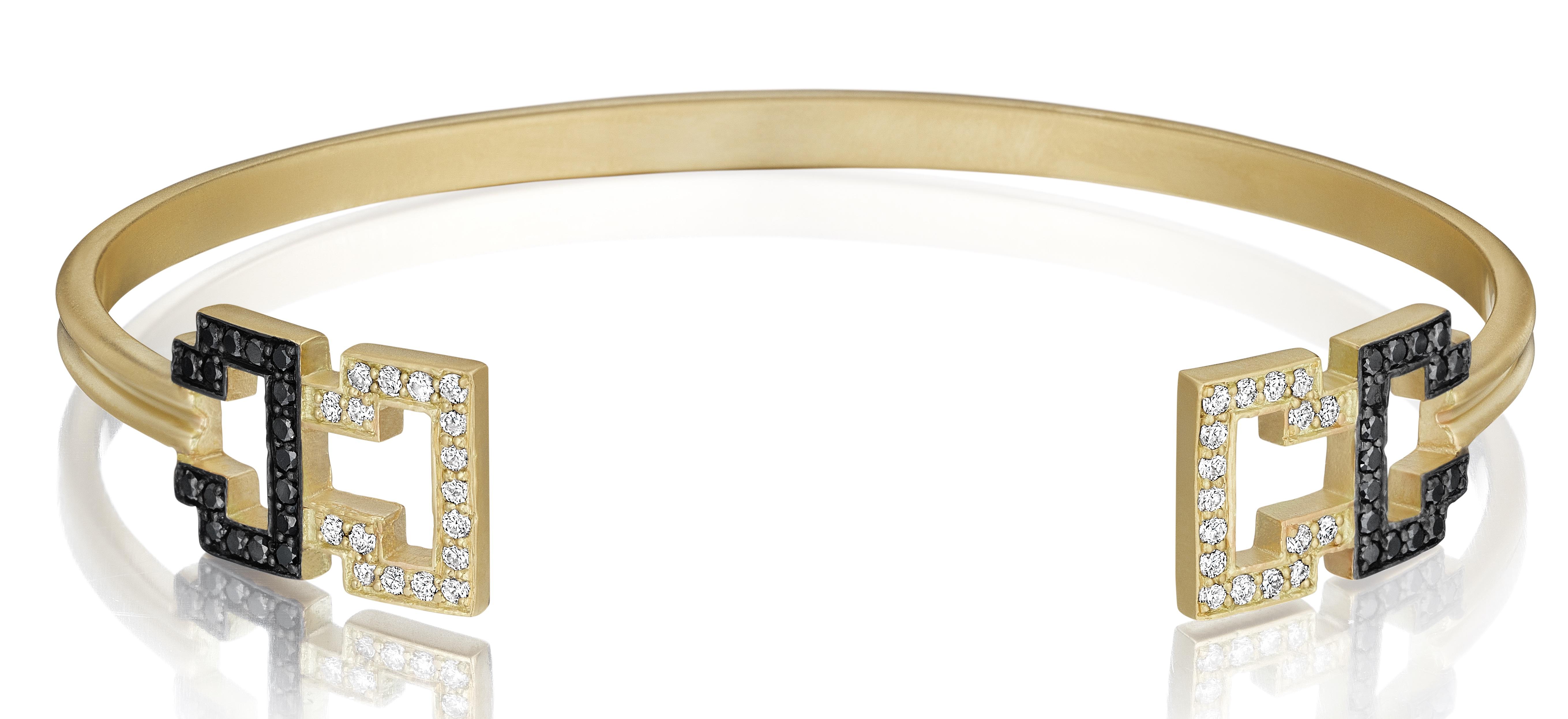 Doryn Wallach Greek Key cuff bracelet | JCK On Your Market