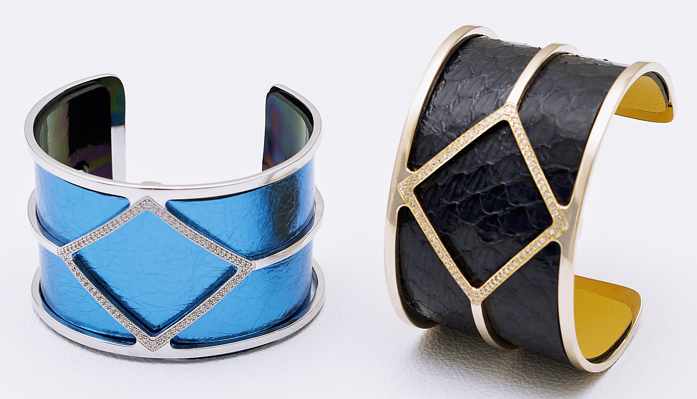 :es Georgettes leather cuff bracelets | JCK On Your Market