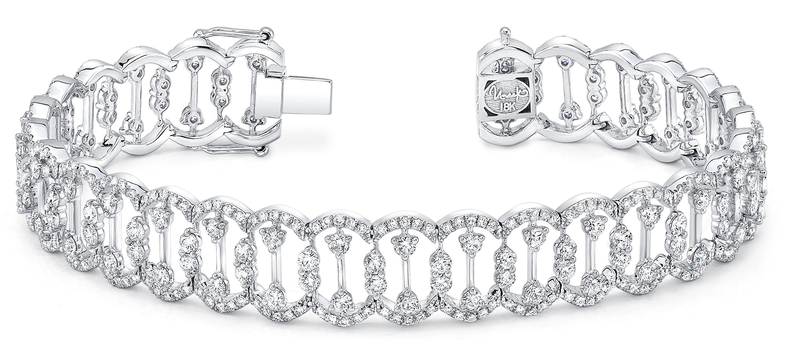 Uneek Lace collection diamond bracelet | JCK On Your Market