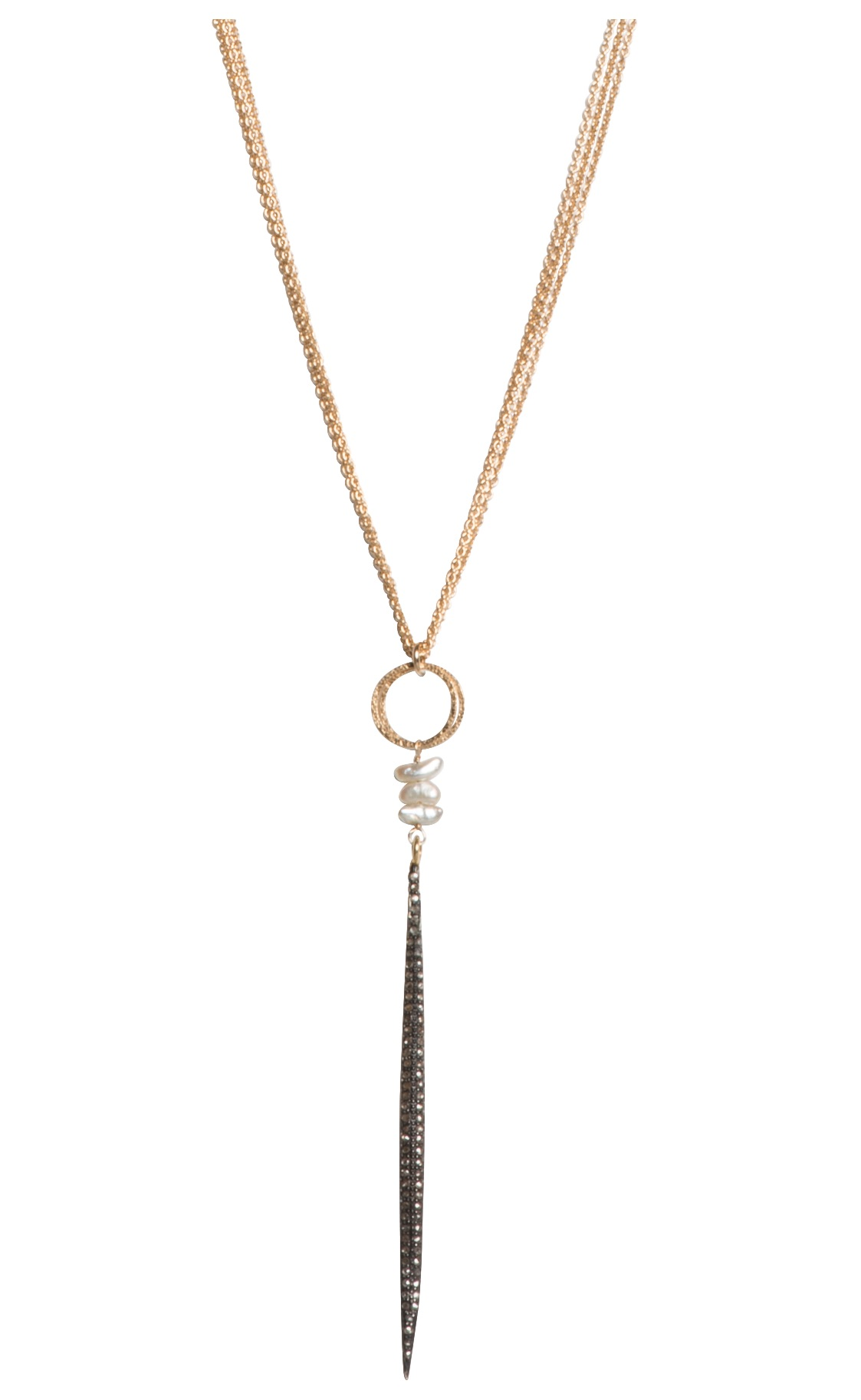 Tracy Arrington pearl and champagne diamond necklace | JCK On Your Market