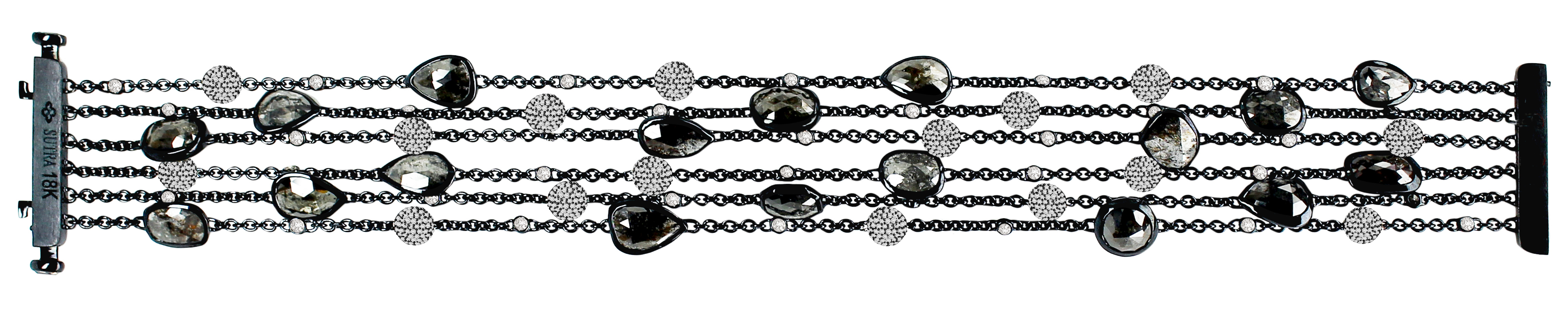 Sutra black diamond bracelet | JCK On Your Market