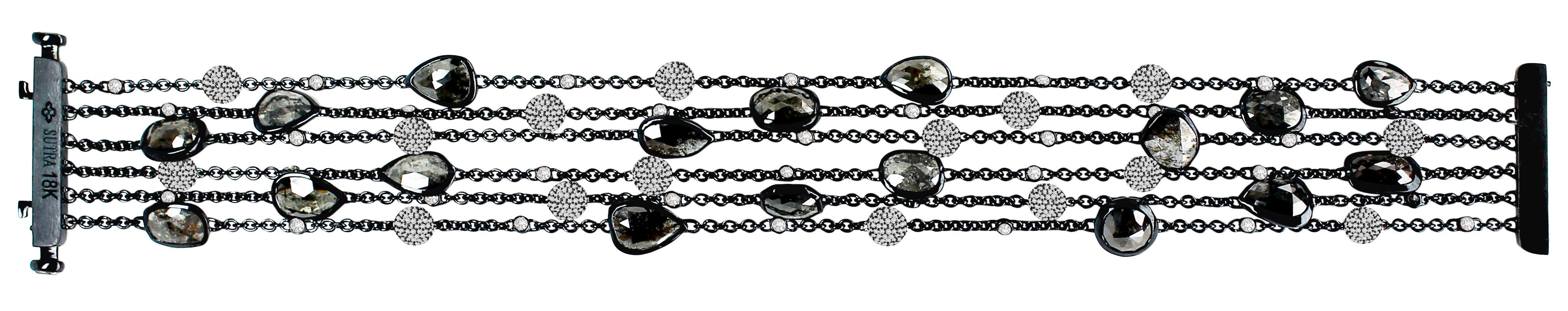 Sutra black diamond bracelet | JCK On Your Market