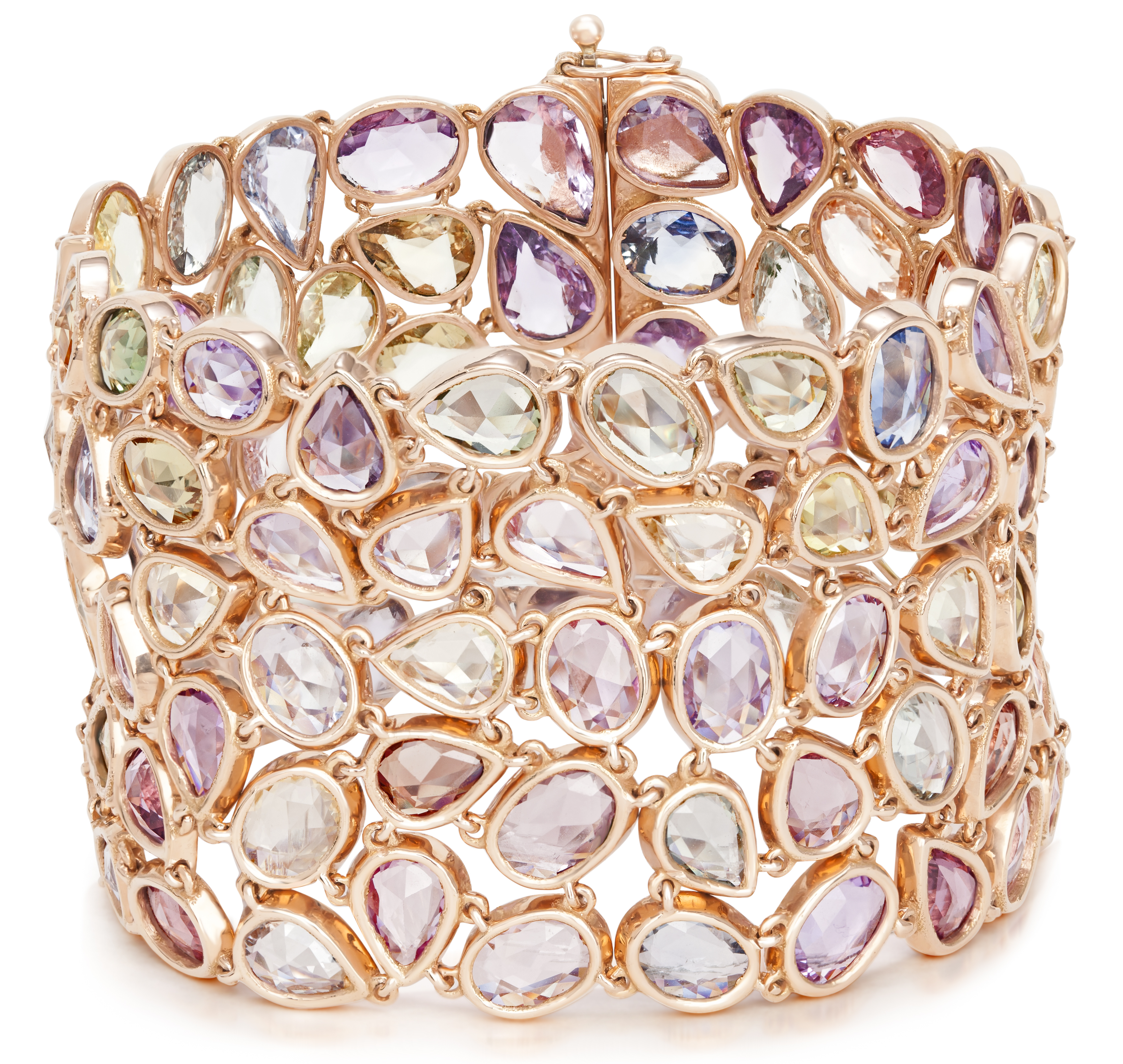 VTse multicolor spinel bracelet | JCK On Your Market