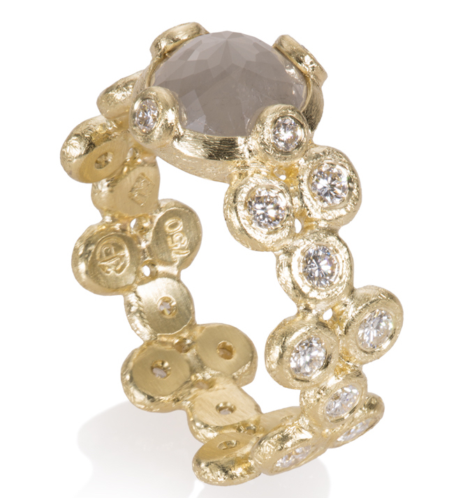 Todd Reed diamond ring | JCK On Your Market