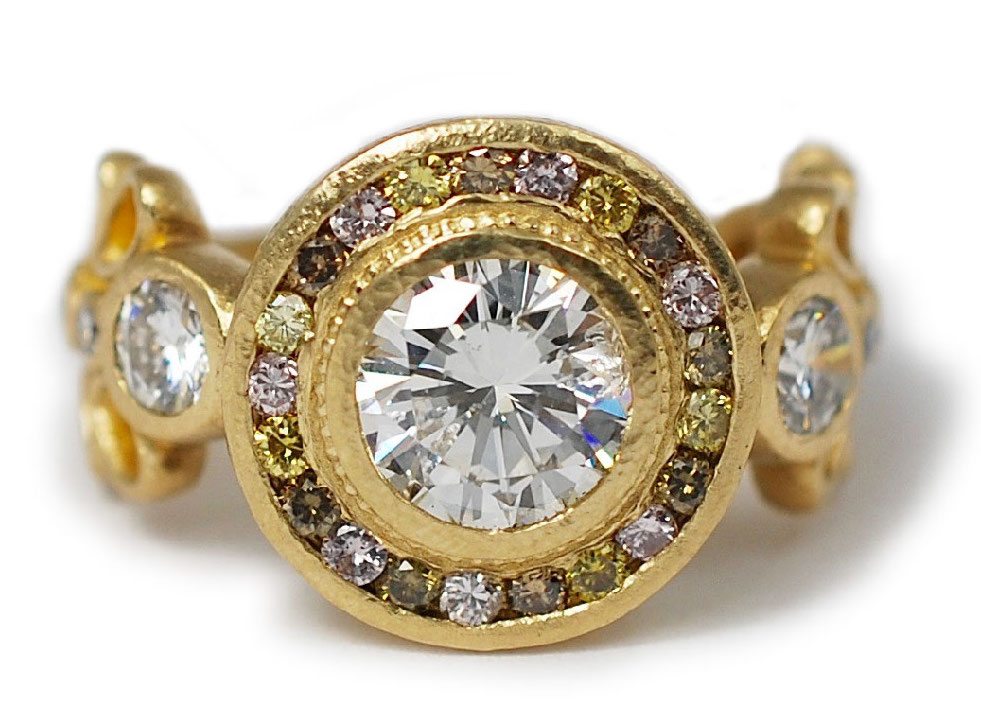 Abby Sparks Katy diamond engagemnent ring | JCK On Your Market