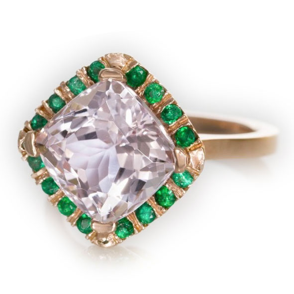 Abby Sparks Janrace kunzite ring | JCK On Your Market