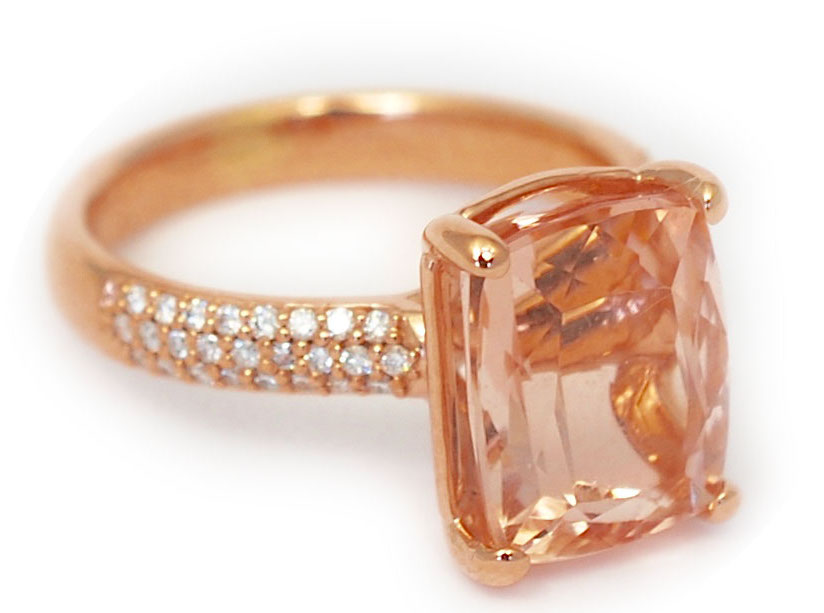 Abby Sparks Alanna morganite ring | JCK On Your Market