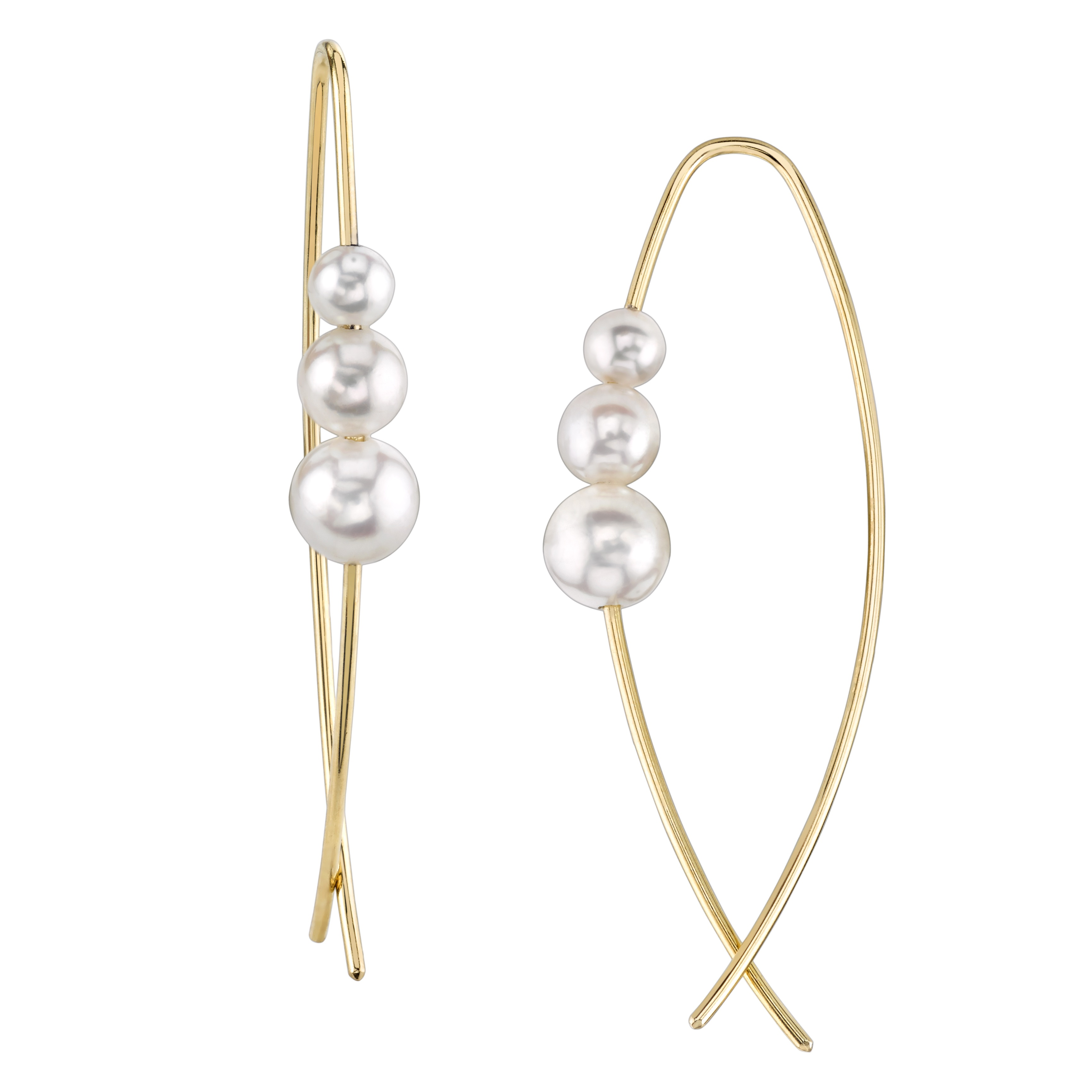 A and Z Pearls akoya earrings | JCK On Your Market