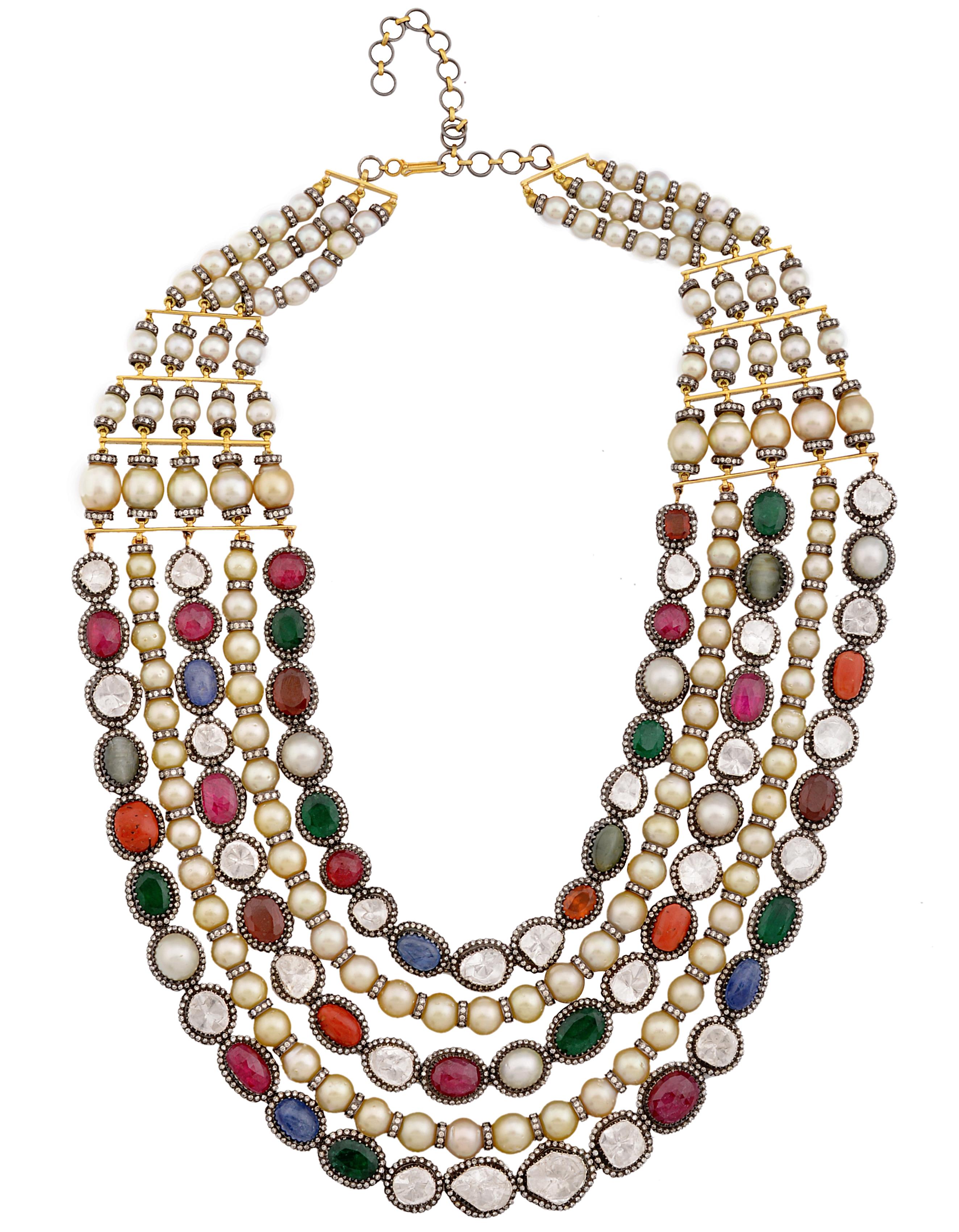Amrapali Navratna necklace | JCK On Your Market
