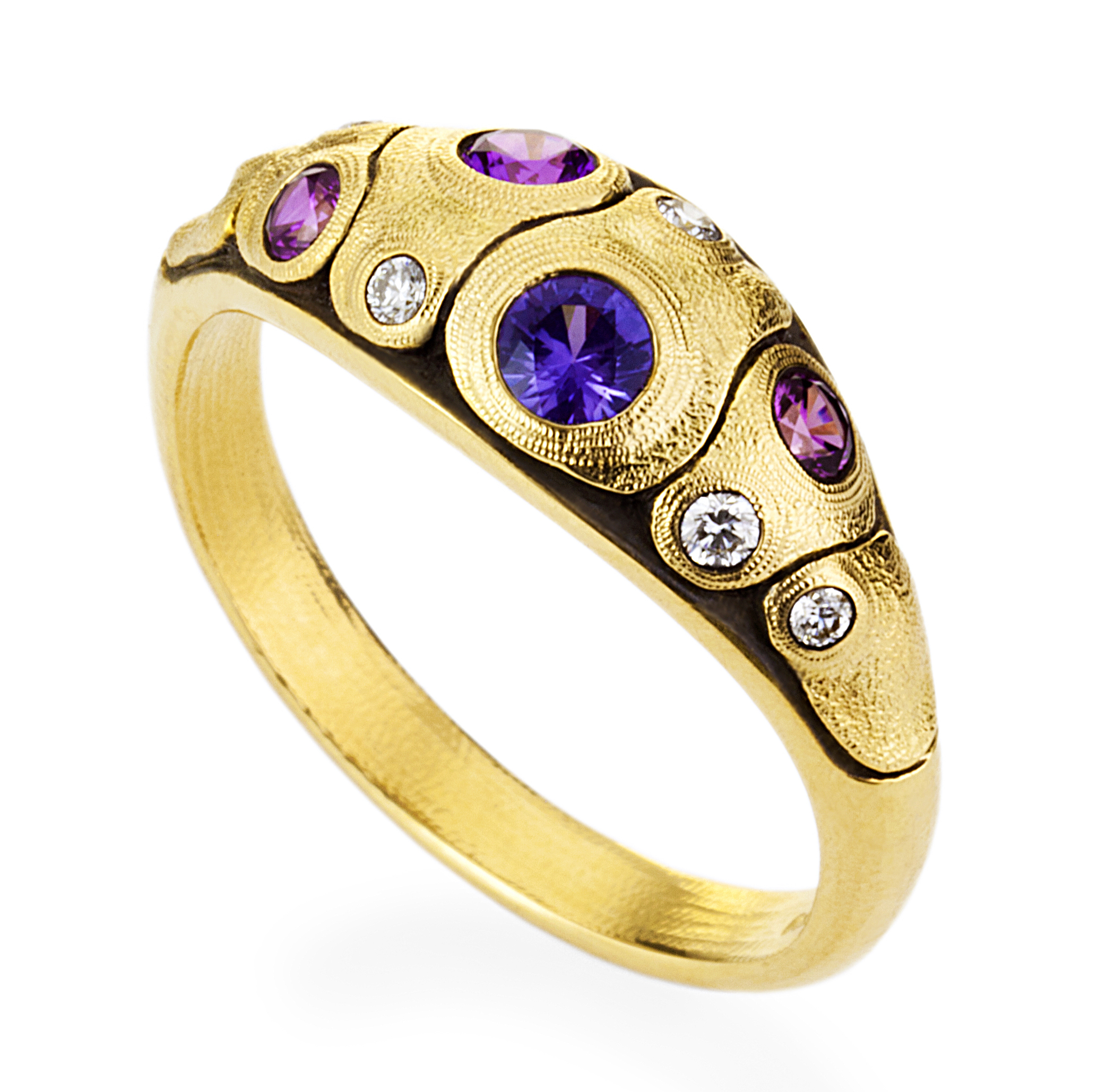 Alex Sepkus Anna II Dome ring | JCK On Your Market