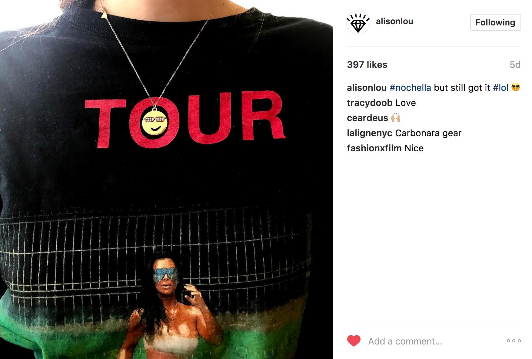 Alison Lou Instagram | JCK Social Setting