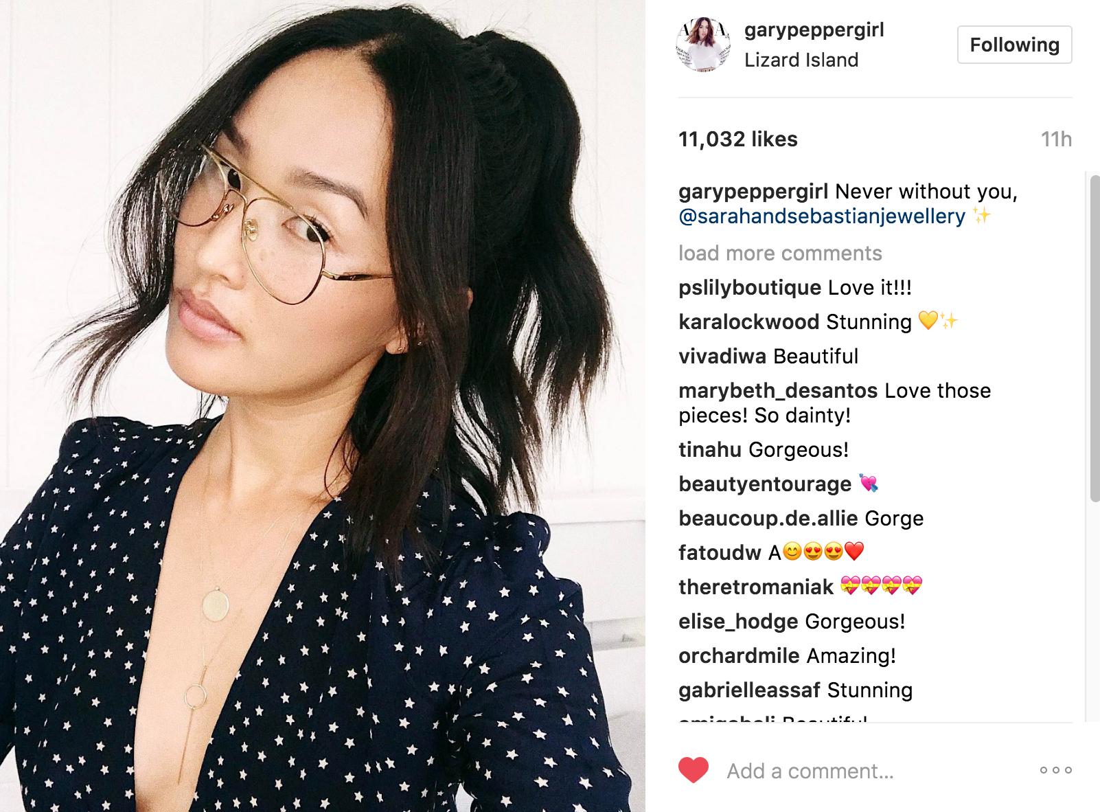 garypeppergirl Instagram | JCK Social Setting
