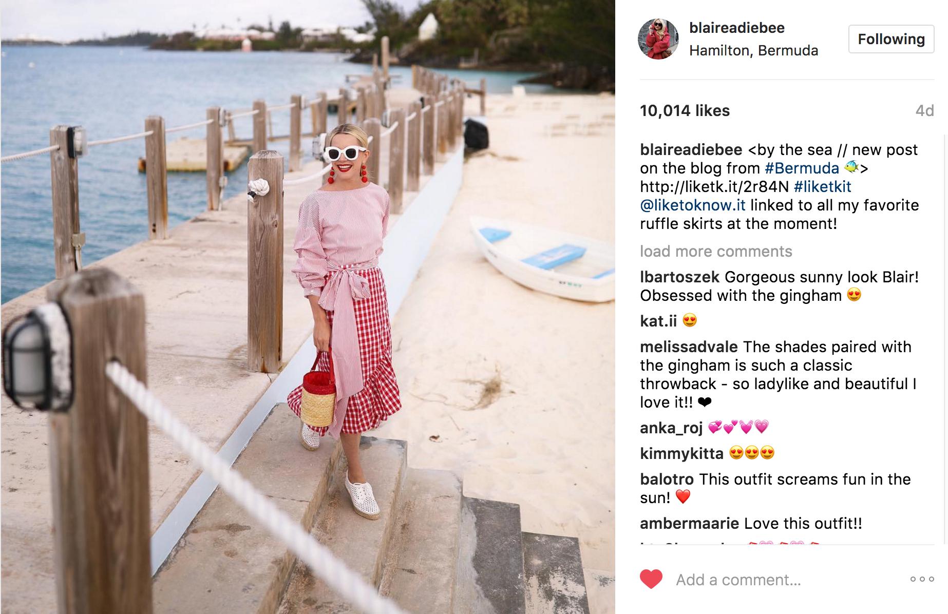 blaireandiebee Instagram | JCK Social Setting