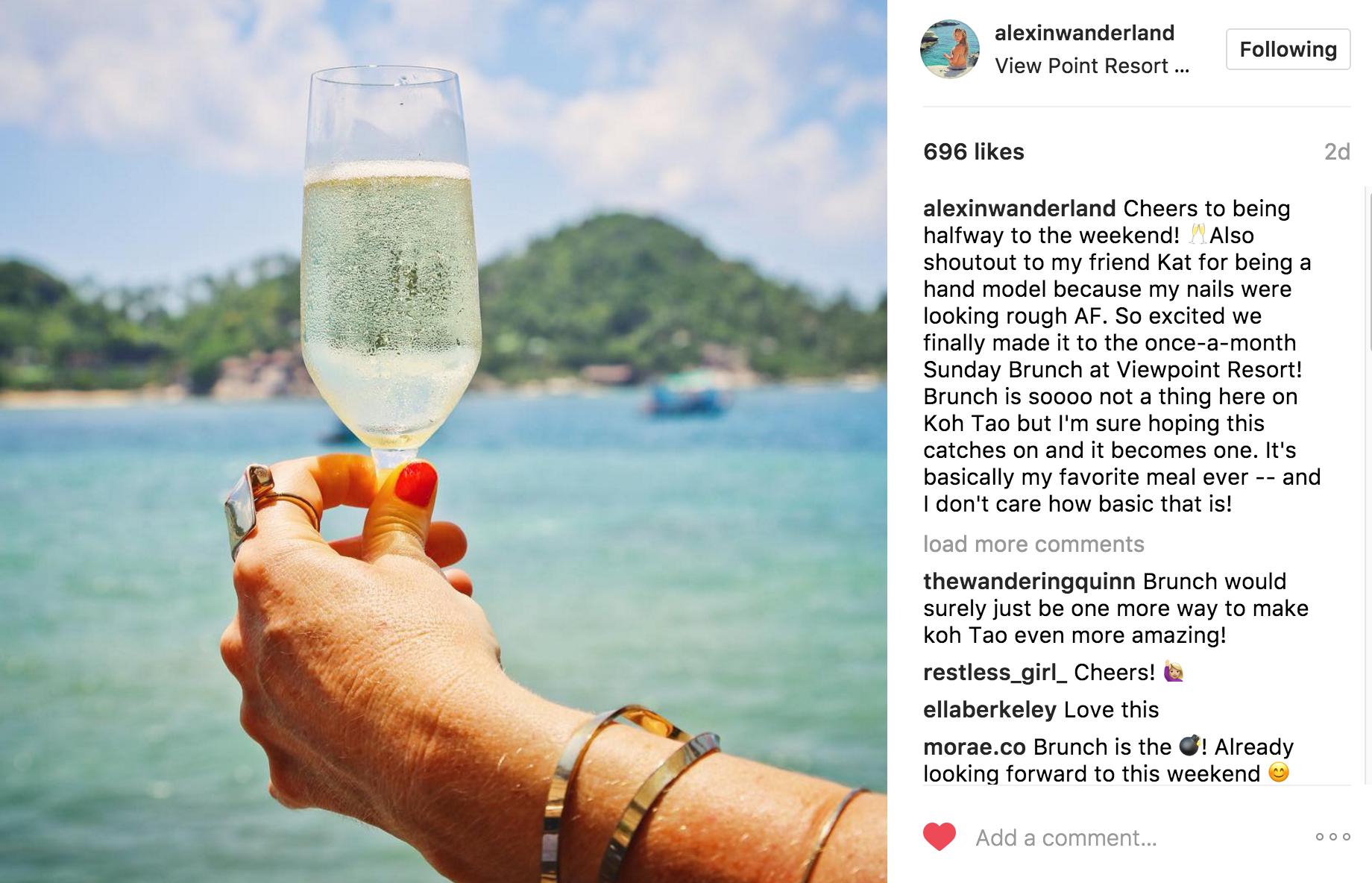 alexinwanderland Instagram | JCK Social Setting