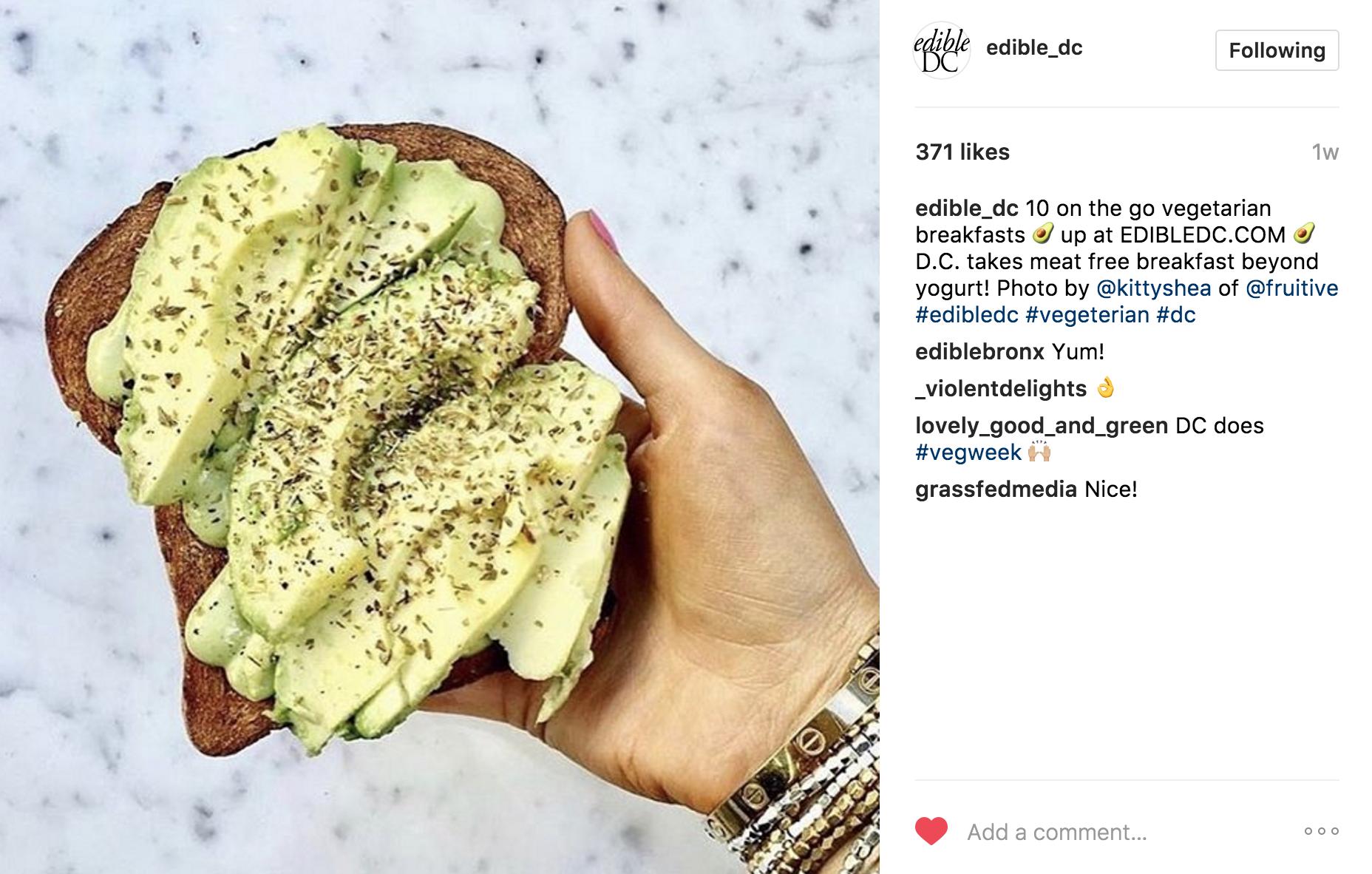 edibledc Instagram | JCK Social Setting