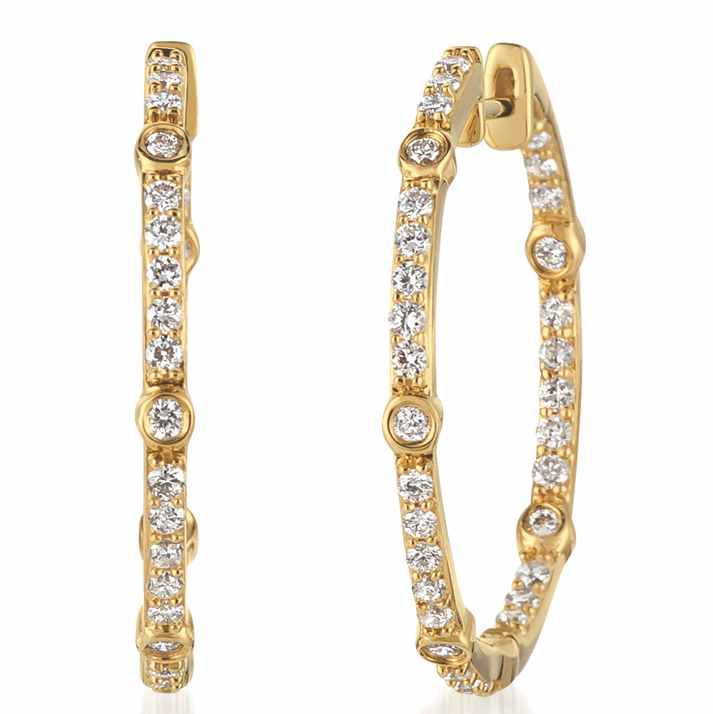 Le Vian hoop earrings | JCK On Your Market