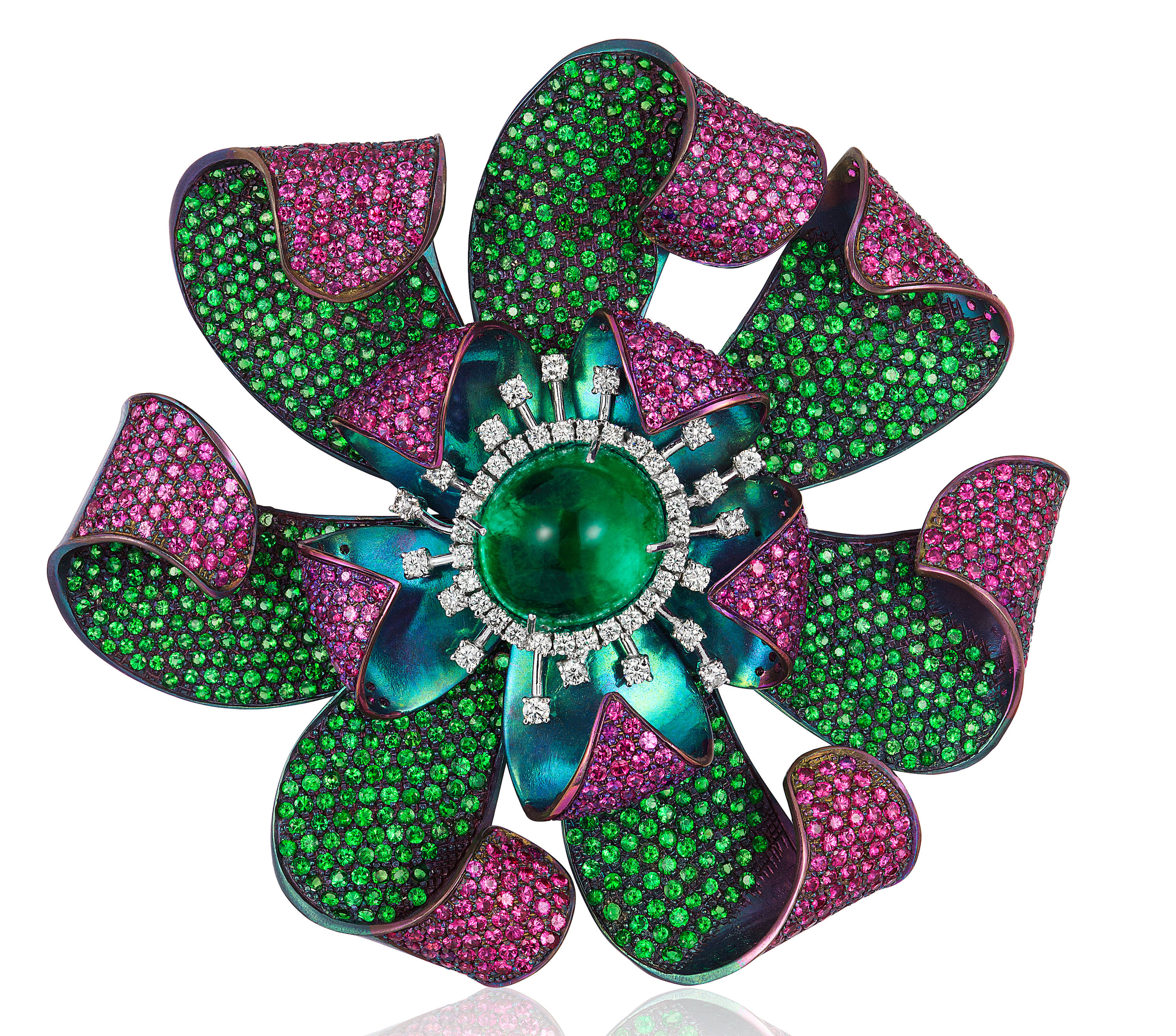 Andreoli flower brooch | JCK On Your Market