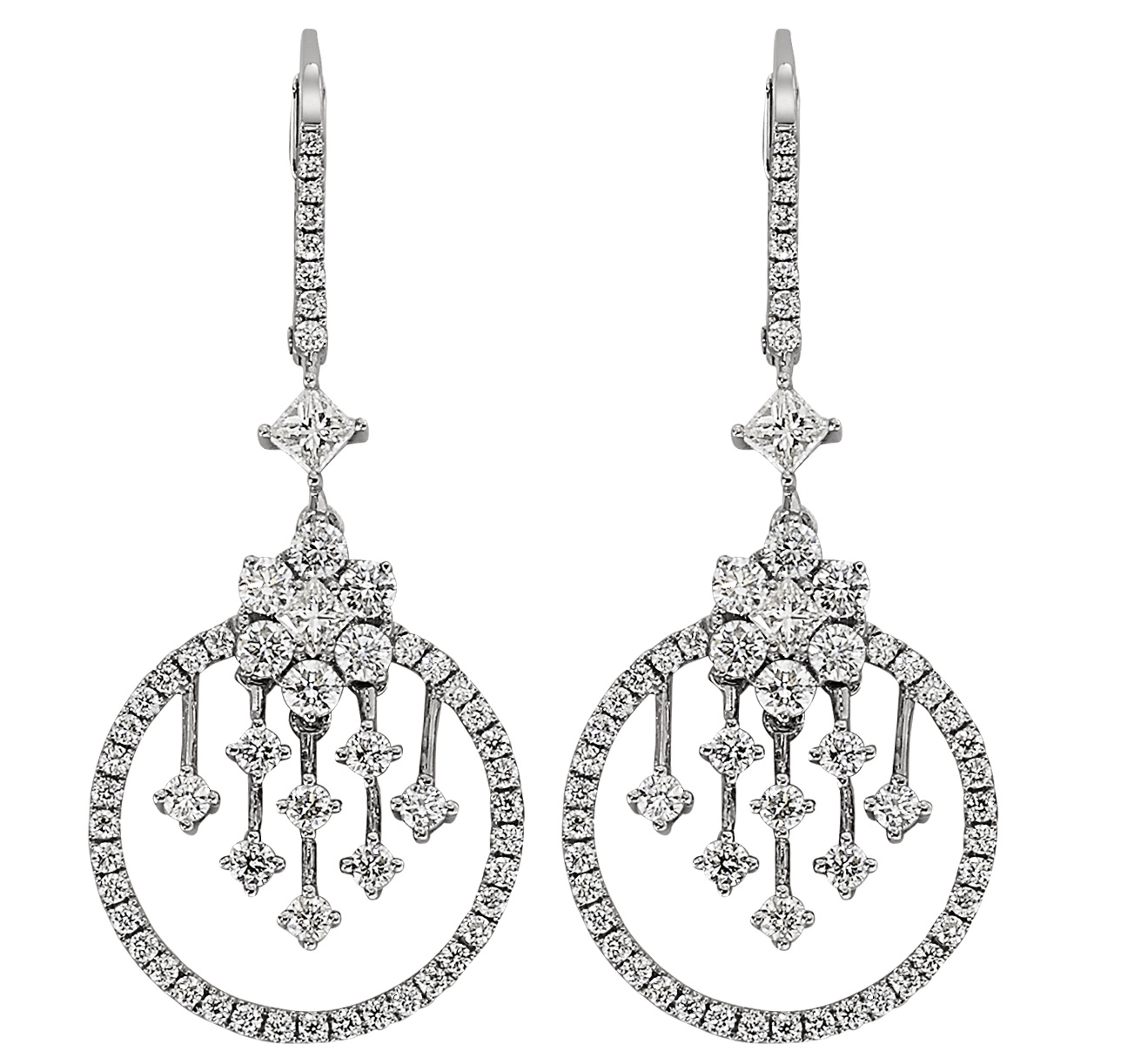 Cordova diamond earrings | JCK On Your Market