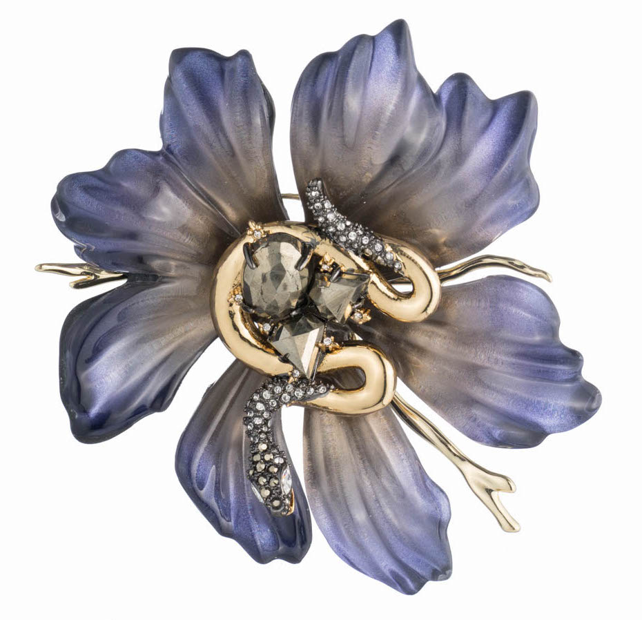 Alexis Bittar flower brooch | JCK On Your Market