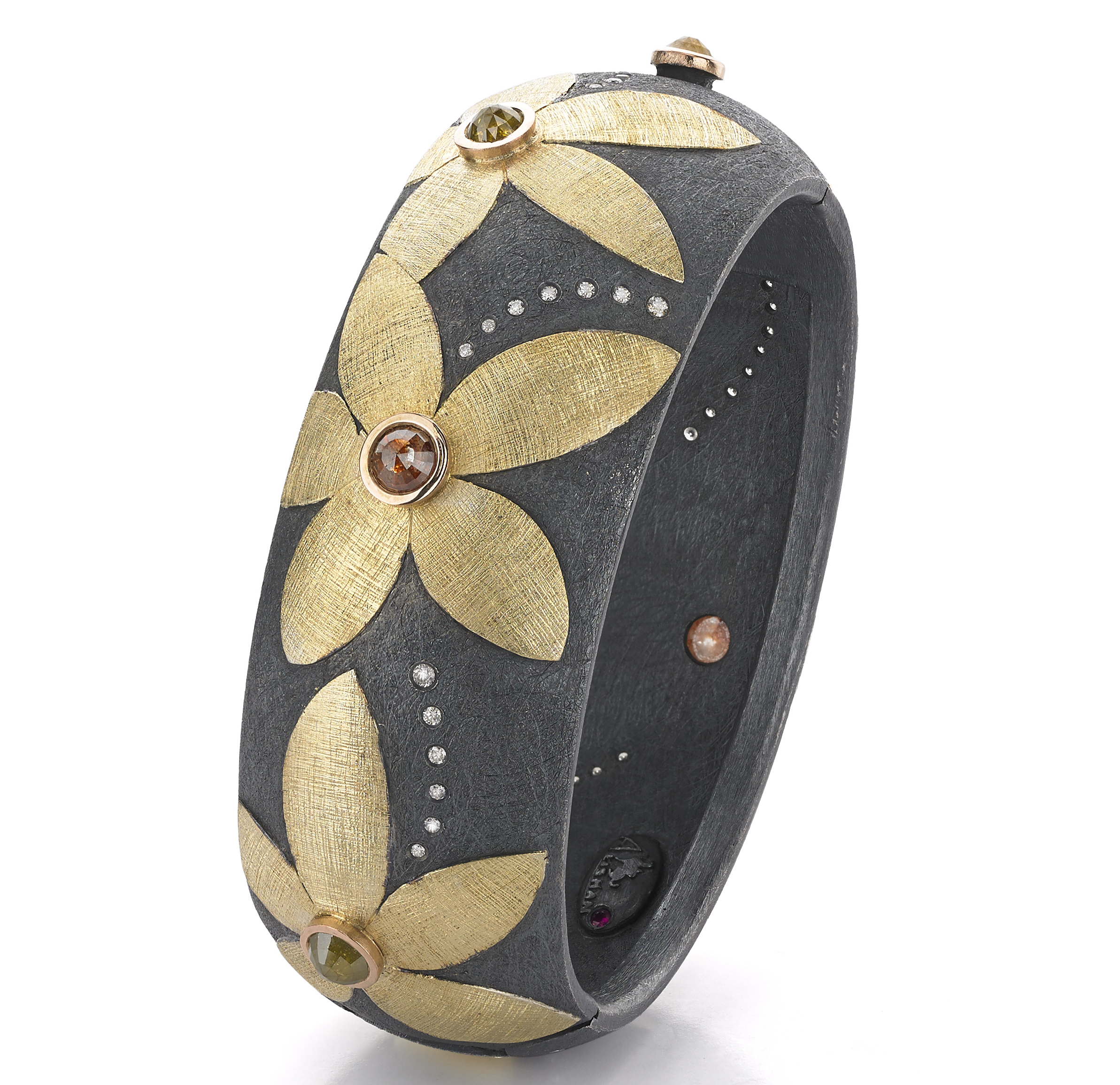 Alishan floral bangle bracelet | JCK On Your Market