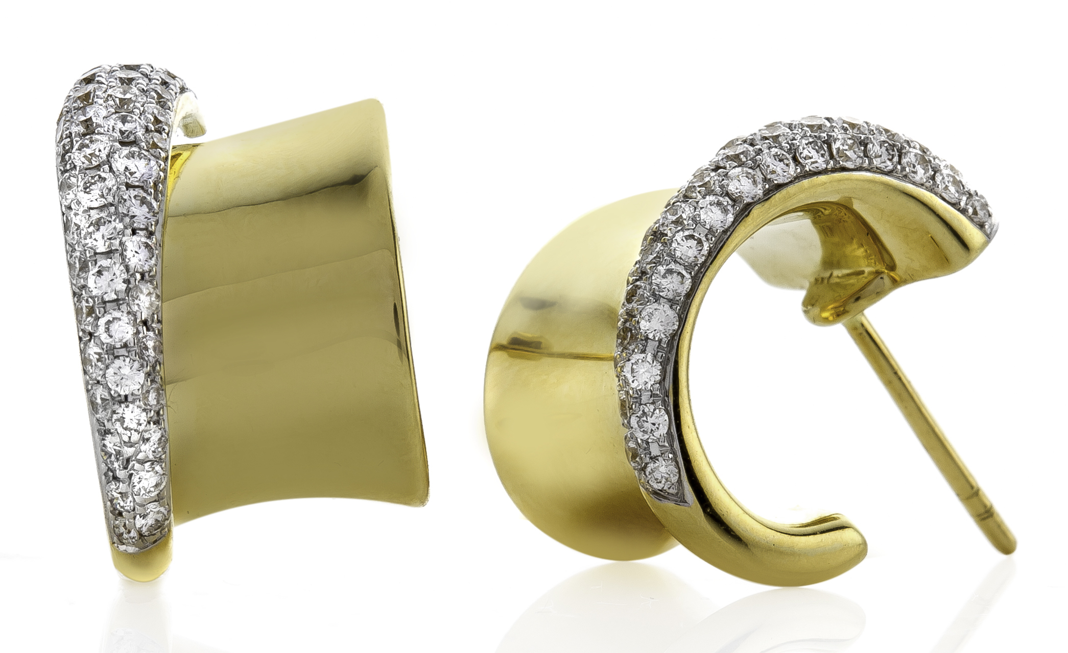 Rudoilf Friedmann gold earrings | JCK On Your Market