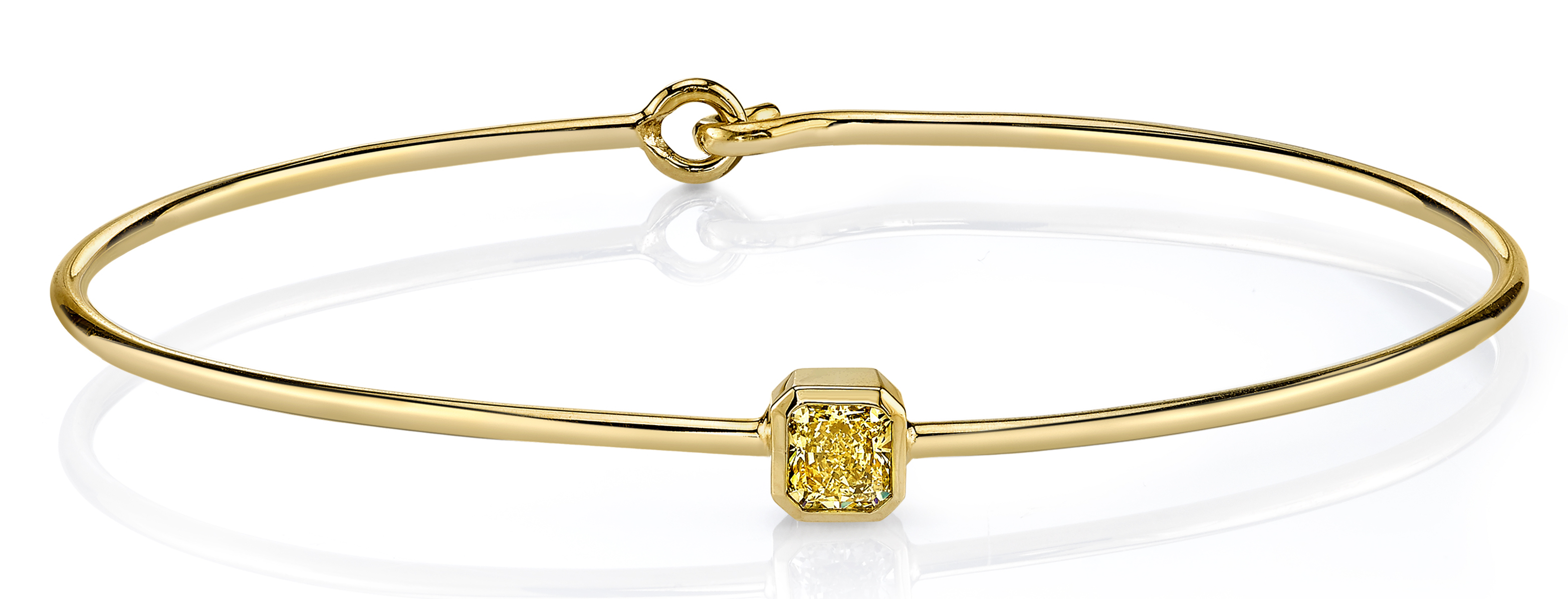 Dalumi yellow diamond charm bracelet | JCK On Your Market