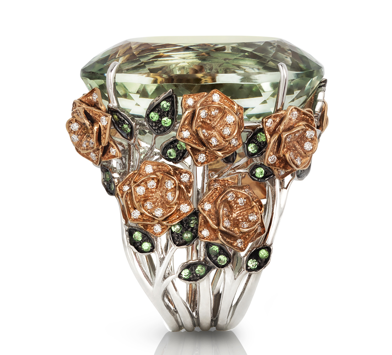 Roberto Coin Garden collection prasiolite ring | JCK On Your Market