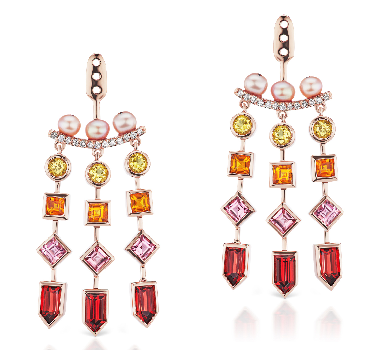 Jane Taylor Cirque chandelier earring jackets | JCK On Your Market