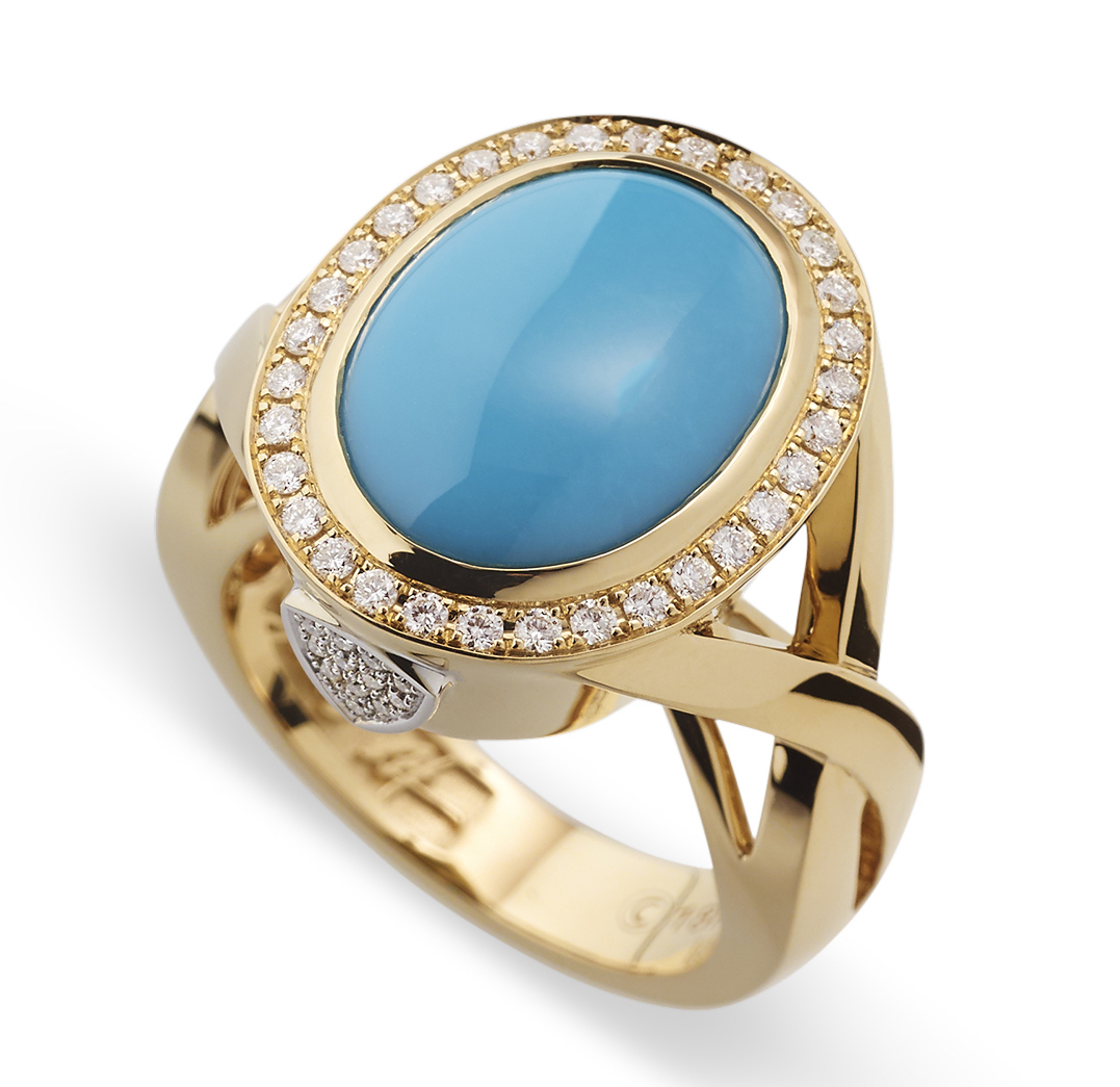 John Atencio Signature turquoise ring | JCK On Your Market